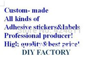adhesive lables - custom made all kinds of adhesive tape film paper logos stickers lables best price and best quality