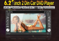 din dvd gps pc - 6 inch Car GPS Navigation Double DIN Car DVD Player Stereo Bluetooth MP3 PC Radio In Dash Domestic USA Shipping