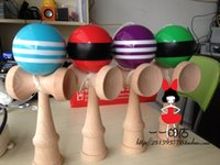 Educational Supplies - 100ocs supply of high quality children s ball skills Queen sword ball skills ball Kendama PU draw a line educational