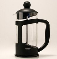 american brewing - Dedicated French Press Brewing Coffee Maker American Coffee Stainless Glass Coffee Pot ml