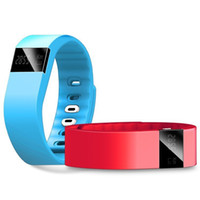 Wholesale 2015 TW64 Smart Bracelet Akin Fitbit Flex Anti Lost Sleep fitness Tracker wristband Remote Photograph Wrist Watch for IOS Android phone