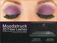 waterproof mascara - 3D FIBER LASHES MASCARA Set Makeup Lash Eyelash Waterproof Double Mascara Black DHL sets