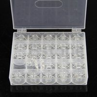 Wholesale W110Hot Selling Plastic Empty Bobbins Case For Brother Janome Singer Sewing Machine