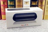 Wholesale 10pcs New Pill Bluetooth Speakers Pill XL player TF AUX USB Wireless Speaker Big Sound Box DHL