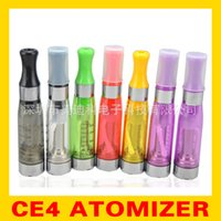 Wholesale CE4 Clearomizer Atomizer Cartomizer CE4 ce5 ce6 Tank clear ml Vaporizer For Electronic Cigarette eGo T EGO k Battery DHL