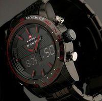 american displays - NAVIFORCE American hip hop tide original single strip luminous watch dual display outdoor sports watch anti