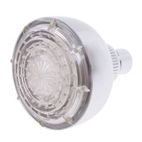Wholesale Free DHL LD8010 A1 RGB Temperature Sensor LED Shower Head Bathroom Sprinkler
