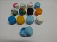 Wholesale 2 ml the best selling Non stick Silicone Container For Wax Bho Oil Butane Vaporizer Silicon Jars Dab Wax Container