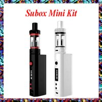 vapor - Subox Mini Starter kit Clone W ohm e cigarette Vapor SUBOX Mini Set VS Subox Nano nebox starter kit