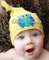 Cheap free ship baby boy Cotton Beanie Hat appliqued Flower Animal Owl for Newborn infant Girl Cartoon cute baby hat mutilcolor 12 colors 10pcs