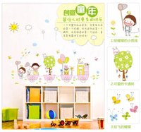 animals outings - Wall stickers home decoration Removable three generations of butterflies flutter outing childhood nursery children s room wall stickers AM70