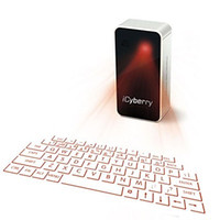 Wholesale iCyberry Laser Projection Virtual Keyboard for iPhone smartphone laptop or tablet