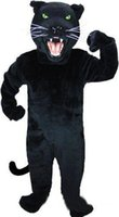 Wholesale Heat a dissolute life panther party gift mascot costume fancy clothes custom EMS