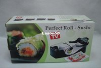Cheap 1pcs Roll Sushi Mold model Easy Sushi Maker Roll Ball Cutter Roller Rice Mold DIY kitchen accessories Tool