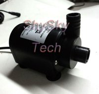 Wholesale Heavy Duty Vdc Micro DC Submersible Pump brushless Max Head m Low Noise ultra quiet Waterproof Power Saving