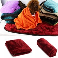 Wholesale 40 cm Soft Warm Pet Dog Cat Fleece Blanket Puppy Bed Mat Pad Carpet Puppy Bed Sofa Sleeping Cushion Quilt