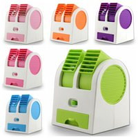 battery powered portable air conditioner - 2014 new portable USB battery two way power mini air conditioner cooling fan handheld bladeless fans LJJH326