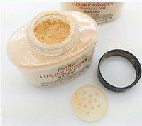 Wholesale Facotry sell Face natural concealer Brighten Long lasting g Ben Nye Banana Loose Powder DHL