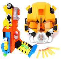nerf darts - Transform Nerf Guns With Lights Mask Blaster Sucking Soft Bullets Armas Darts Airsoft Shooting Sights Pistola Plastic Paintball Kids Toys