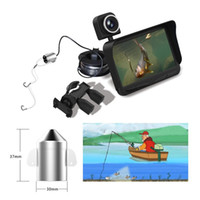 Wholesale 4 quot HD TFT Outdoor Sport Portable LCD Monitor Night Vision Fish Finder Infrared Underwater Fishing Camera Overwater Camera