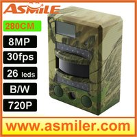 Wholesale 2015 NEW cheap infrared hunting camera DHL EMS free from asmile