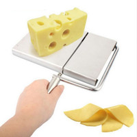 Wholesale Cheese Slicer Butter Cutting Board Stainless Steel Wire Making Dessert Blade Durable Kitchen Cooking Serving Baking Tools