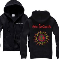 alice band men - Alice In Chains Rock Band Hoodies Black Gives Way To Blue Tour Hoodies black Hoodies S M L XL XXL NEW