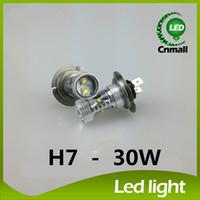 Wholesale High Power W H4 H7 LED Car Light Lamp CREE XB D LED Car Fog Head Driving Daytime Running Light Bulbs Auto Car Light LED Fog Light Lamp New