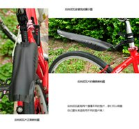 mud tires - Applicable to diameter less than mm Mountain Bicycle Cycling Front Rear Mud Guard Mudguard Set Bike Tire Fender Black Bicycle Accessories