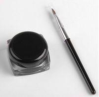 waterproof liner - Brand new Black Waterproof Eye Liner Eyeliner Gel Makeup Brush in a box