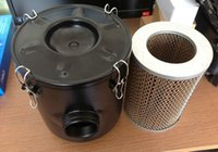 Wholesale INDUSTRIAL VACUUM PUMP INTAKE FILTER IN HOUSING Rc1 quot INLET OUTLET