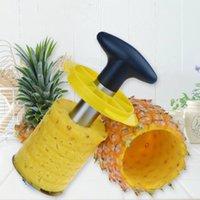 pineapple peeler - Hot sale set Stainless Steel Pineapple Corer Slicer Peeler Cutter Kitchen Tool