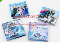Wholesale Frozen notebooks multi style size cm anna elsa princess cartoon cover Memo Pad kids new term gifts school supplies pocket book