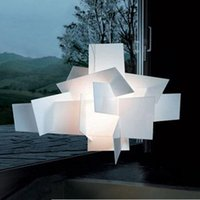 Wholesale Foscarini Big Bang Chandelier Fashion Modern Creative Stacking Pendant Lamp Designed By Enrico Vicente Chandelier Ceiling Light R7S Light