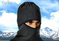 Wholesale Men Motorcycle Thermal Fleece Balaclava Neck Winter Ski Full Face Mask Cap Cover