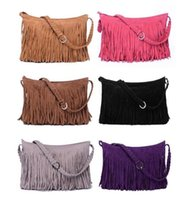 fashion handbag wholesale - Fashion Fringe Tassel Women s Handbags Women Messenger Bag Lady Cross Body Shoulder Bag