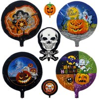 halloween decorations - Halloween props decoration pumpkin props halloween balloon pumpkin balloon