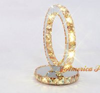 amber table lamp - Glaucoma amber lamp decorated double election bedside lamp table lamp crystal table lamp AC220V