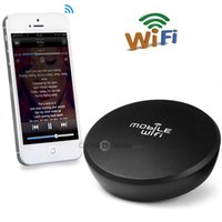 airplay speakers - LinK WR001 WiFi Audio Receiver Wireless Music Box Wireless Speaker Airplay DLNA for iPhone Plus S Samsung S6 HTC ONE M9