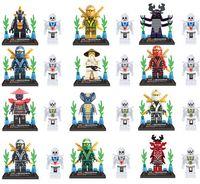 Wholesale 960pcs Ninja Minifigures Ninjago Cole Jay Kai Lloyd Ninja Minifigures Building Blocks