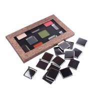 artists pigments - Empty Iron Pans Pigment Container Refill Eye Shadow Pans Makeup Artist Tool Cosmetic Holder