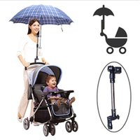 Wholesale Hot Stainless steel umbrella holder Wheelchair Bicycle Pram Swivel Umbrella Connector Stroller Holder Any Angle New