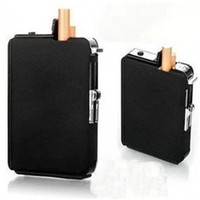 Cheap New Automatic Ejection Butane Cigarette Lighter Case Box Holder Windproof Dispenser
