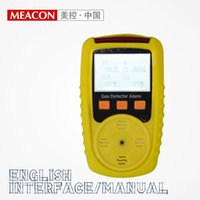 Wholesale Gas analyzer portable combustible and toxic alarm detector any gas customized methane O2 CO H2S NH3
