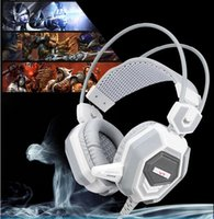 Wholesale USB mm V7 Surround Stereo Gaming Headset Headband Headphone with Mic for PC CF LOL Internet Cafes Dedicated
