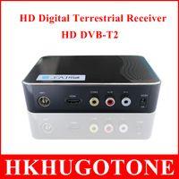 Wholesale MINI HD DVB T2 Terrestrial Digital TV Receiver Support DVB T DVB T2 MPEG MPEG H USB HDMI Output Set Top Box