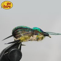 beetles fly - Goture Fly Fishing Lure Bait Beetle Dry Flies Insect for Carp Bass Salmon Fishing with Mustard Hook