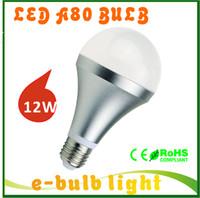 120v led light bulb - bombillas e27 led W lamp R80 A80 LED bulb lights Aluminum lampadas de LED E27 V V V