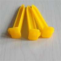 abs tent stakes - Outdoor Camping Tent Stakes Pegs Pins Trip Plastic ABS Heavy Duty Tent Nails bag