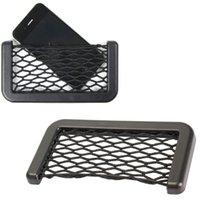 Wholesale Car Storage Pouch Auto String Mesh Bag Storage Pouch for Cellphone Gadget Cigarette